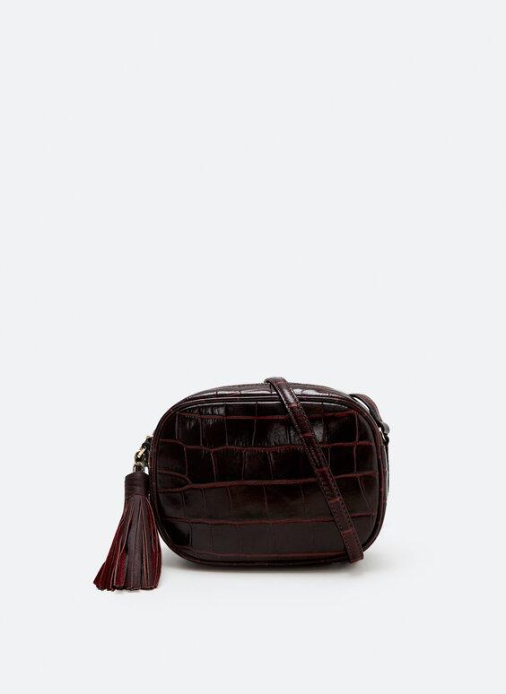 Skórzana torebka na ramię