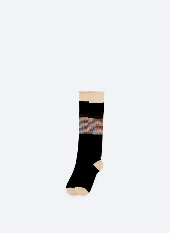 Houndstooth mini socks