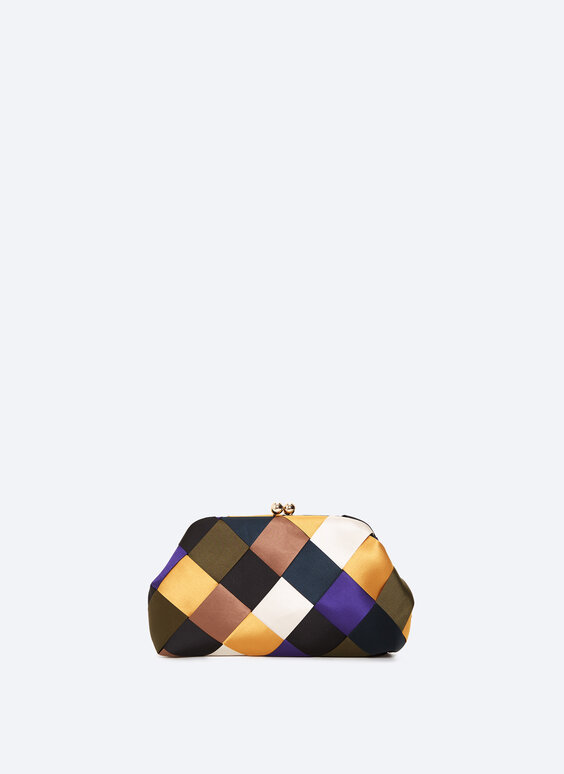 Multicoloured evening bag