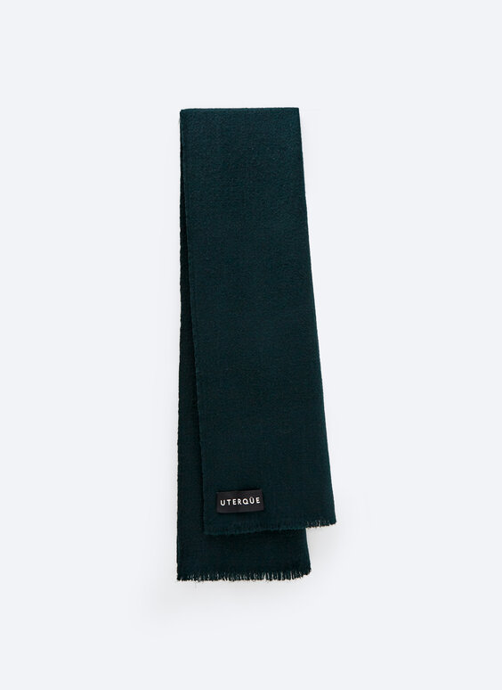 0.0 Studio green scarf
