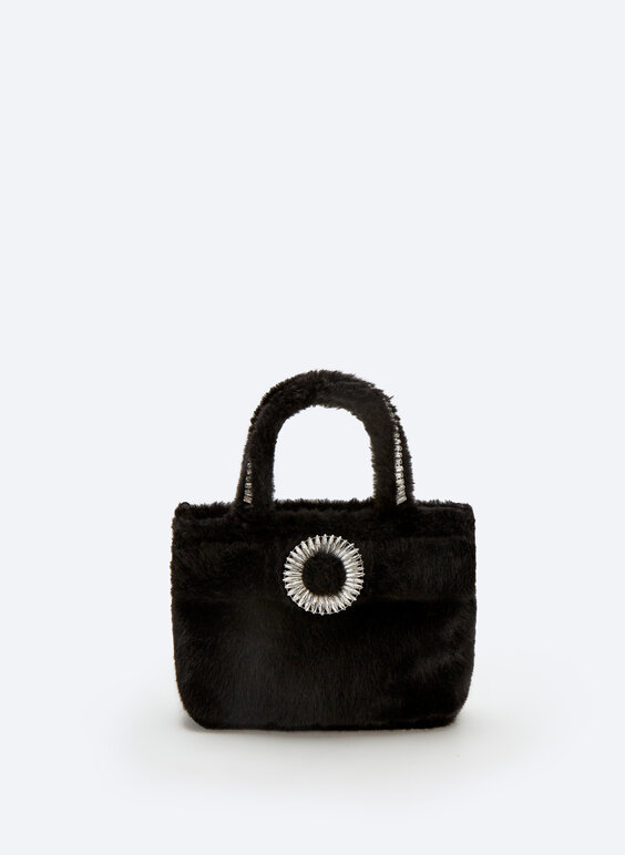 Evening bag with buckle