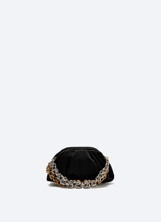 Evening bag with chain