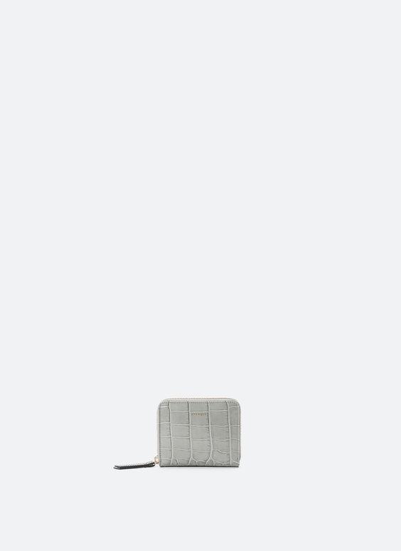 Mini-portefeuille en cuir