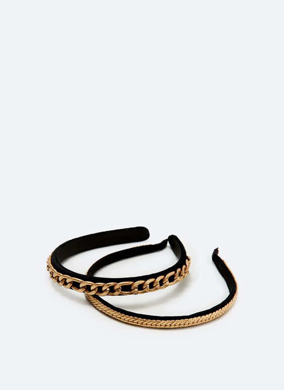 2-pack of chain headbands