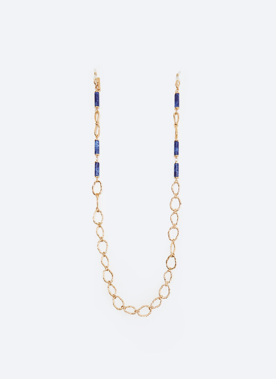 Gold chain for glasses