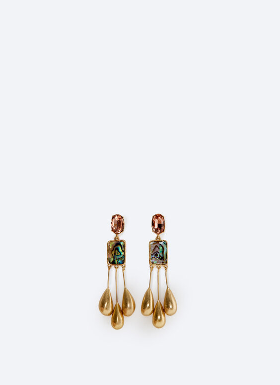 Diamanté earrings