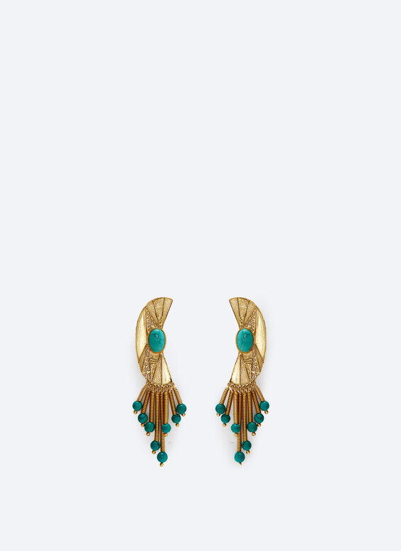 Half-moon earrings