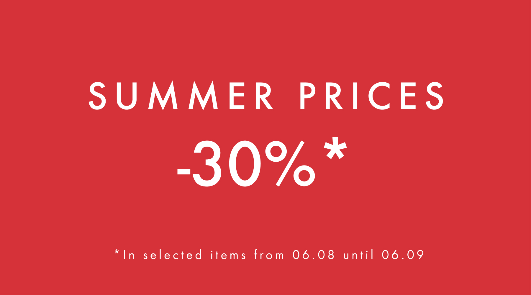 Summer Prices
