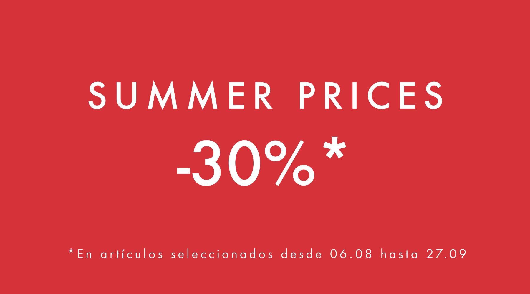 Summer Prices
